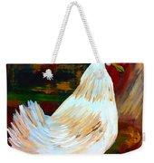 Chicken--yard Bird Impression Weekender Tote Bag