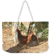 Chickens In The Pin Weekender Tote Bag