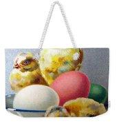 Chicks And Eggs Weekender Tote Bag