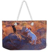 Chico And Paco The Mountain Dogs Weekender Tote Bag