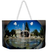 Chico City Plaza Weekender Tote Bag