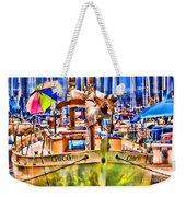 Chico Sail Boat By Diana Sainz Weekender Tote Bag