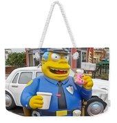 Chief Clancy Wiggum From The Simpsons Weekender Tote Bag