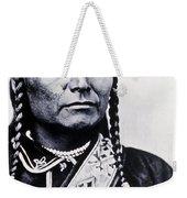 Chief Joseph Nez Perce Leader Weekender Tote Bag