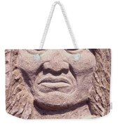 Chief-kicking-bird Weekender Tote Bag
