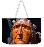 Chief Looking Weekender Tote Bag