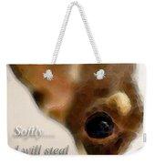 Chihuahua Dog Art - The Thief Weekender Tote Bag