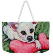 Chihuahua Who Came To Visit Weekender Tote Bag