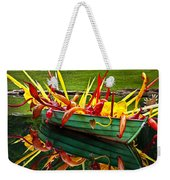 Chihuly Boat Weekender Tote Bag by Diana Powell