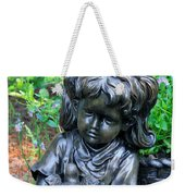 Child And Dove Weekender Tote Bag