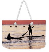 Child Art - Magical Sunset Weekender Tote Bag by Sharon Cummings