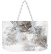 Child Cherub Weekender Tote Bag