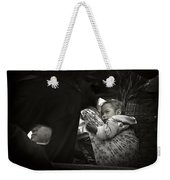Child  On A Journey Weekender Tote Bag