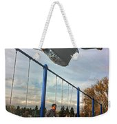 Child On Swing Weekender Tote Bag