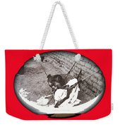 Child Tohono O'odham Hammock #2  Unknown Location And Date - 2013. Weekender Tote Bag