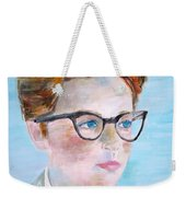 Child With Glasses Weekender Tote Bag