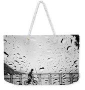 Children In Rain Weekender Tote Bag