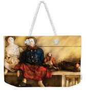 Children - Toys - Assorted Dolls Weekender Tote Bag by Mike Savad