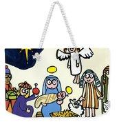Children's School Nativity Play Weekender Tote Bag