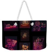 Children's Toys In Lights Poster 2 Weekender Tote Bag