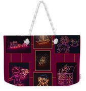 Children's Toys In Lights Poster Weekender Tote Bag