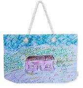 Child's Drawing Weekender Tote Bag
