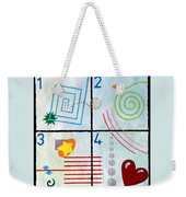Child's Play Weekender Tote Bag