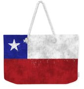Chile Flag Weekender Tote Bag