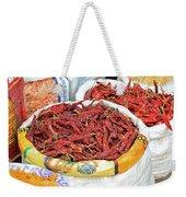 Chili At The Market Weekender Tote Bag