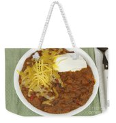 Chili Con Carne Weekender Tote Bag
