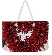 Chili Pepper Heart Weekender Tote Bag