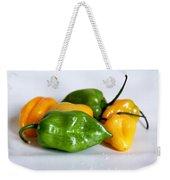 Chili Peppers Weekender Tote Bag