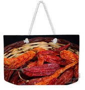 Chilis In A Basket Weekender Tote Bag