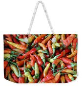 Chilli Background Weekender Tote Bag