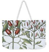 Chilli Pepper Plants Weekender Tote Bag
