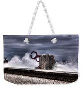 Chillidas Comb Of The Wind In San Sebastian Basque Country Spain Weekender Tote Bag