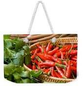Chillies 04 Weekender Tote Bag