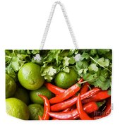 Chillies And Limes Weekender Tote Bag