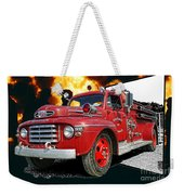 Chilliwack Fire-coming Out Into The Fire Weekender Tote Bag