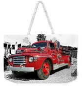Chilliwack Fire- Mercury Firetruck Weekender Tote Bag