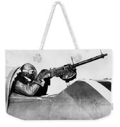 Chilly Army Air Corp Plane Weekender Tote Bag
