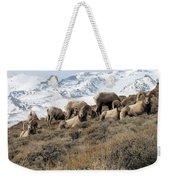 Chimney Rock Rams Weekender Tote Bag