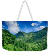 Chimney Tops Mountain In Great Smoky Mountains  Weekender Tote Bag