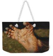 Chimpanzee Foot Weekender Tote Bag