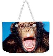 Chimpanzee Portrait Weekender Tote Bag