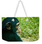 Chimpanzee Profile Weekender Tote Bag
