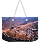 China Great Wall Adventure By Jrr Weekender Tote Bag