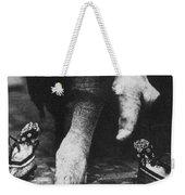 China: Lily Foot, C1900 Weekender Tote Bag