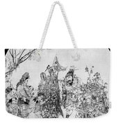 China: Peddler & Children Weekender Tote Bag