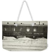 China Railroad, 1918 Weekender Tote Bag